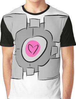 Companion Cube - Portal Graphic T-Shirt