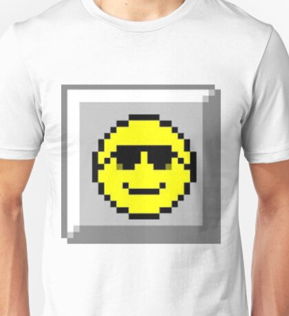 Minesweeper Retro Smiley Face Unisex T-Shirt