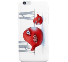 Little Red Robins iPhone Case/Skin