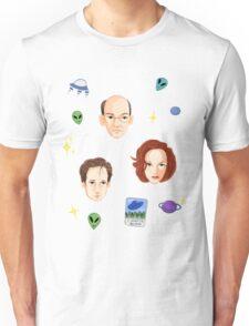 X Files - FBI Agents Unisex T-Shirt