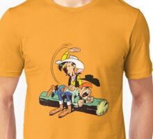 lucky luke and billy the kid Unisex T-Shirt