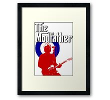 The Modfather Framed Print