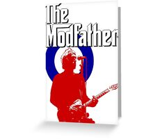 The Modfather Greeting Card