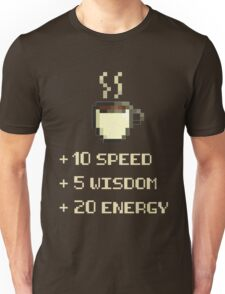 Coffee Power-up Unisex T-Shirt