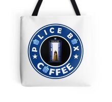 Police Box Coffee | Doctor Who Tote Bag