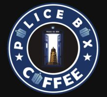 Police Box Coffee | Doctor Who Kids Clothes
