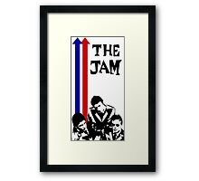 The Jam Double Arrow Tee Framed Print