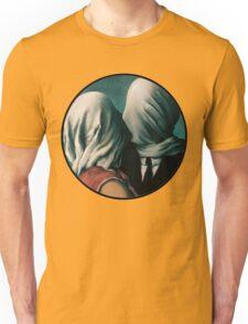 The Lovers Rene Magritte Unisex T-Shirt