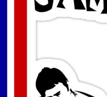 The Jam Double Arrow Tee Sticker