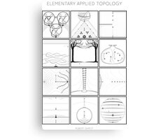 Elementary Applied Topology Canvas Print