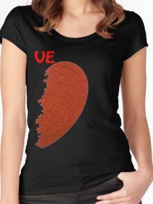 Valentine's Day Women's Fitted Scoop T-Shirt