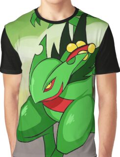 Mega Sceptile Graphic T-Shirt