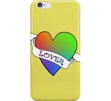 Lover (Gold) iPhone Case/Skin