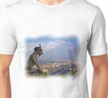 Gargoyle on Notre Dame Unisex T-Shirt