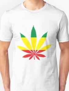 Rastafarian Marijuana Leaf Unisex T-Shirt