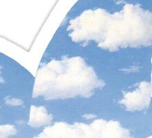 Rene Magritte La Promesse Sticker