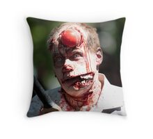 Cricket is not for Zombies Throw Pillow