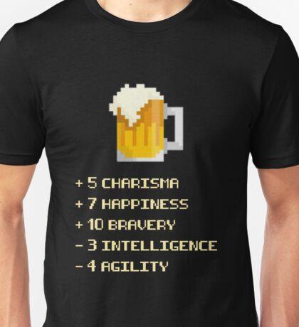 Beer Power-up Unisex T-Shirt