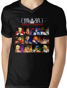 Garou Mark of the Wolves (Neo Geo) Mens V-Neck T-Shirt