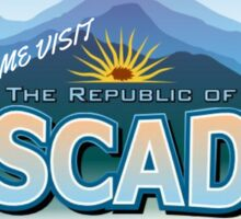 Come Visit Cascadia (second edition) Sticker
