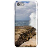 Surf near Clovelly iPhone Case/Skin