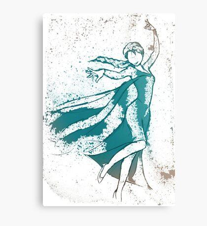 The Snow Queen Canvas Print