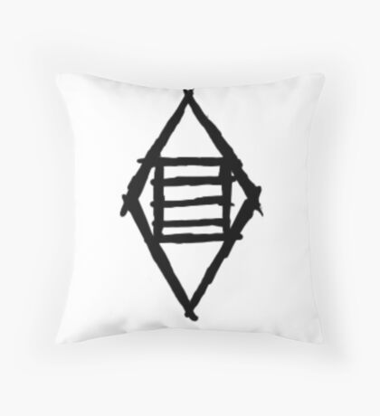 Thieves Guild Shadowmark - Cache Throw Pillow
