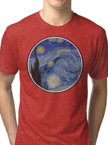 Vincent Van Gogh Starry Night Tri-blend T-Shirt