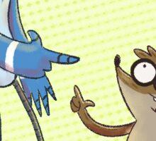 Mordecai / Rigby Sticker