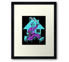 Now You're Killing With Power Framed Print