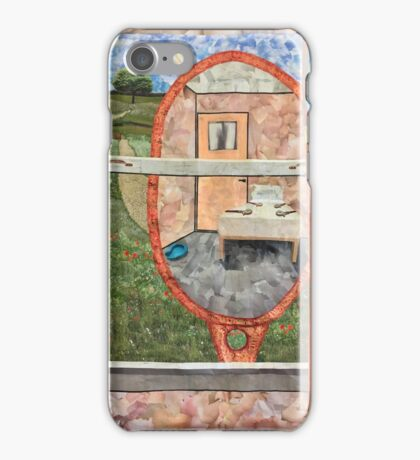 Reflections on Room 101 in the Ministry of Love iPhone Case/Skin