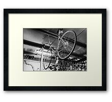 Spoke 11 Framed Print
