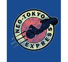 Neo-Tokyo Express (Vintage) Photographic Print