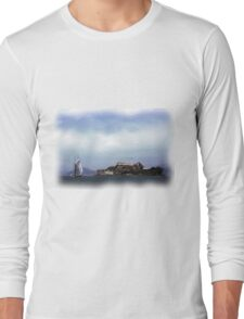 Sailboat on San Francisco Bay Long Sleeve T-Shirt