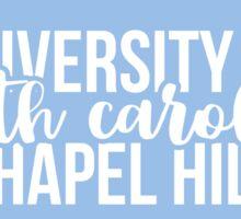 UNC Chapel Hill - Style 17 Sticker