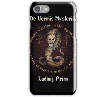 De Vermis Mysteriis iPhone Case/Skin