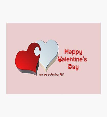 Valentine's Puzzle Photographic Print