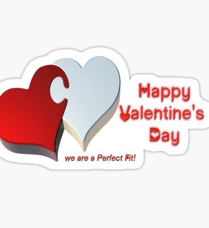 Valentine's Puzzle Sticker