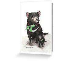Christmas Tasmanian Devil Greeting Card