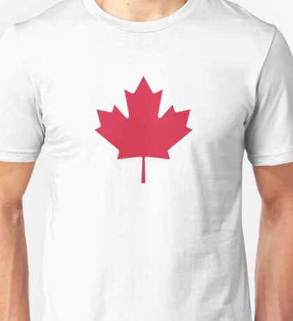 Canada Maple leaf Unisex T-Shirt