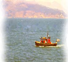 Tugboat on San Francisco Bay by shutterbug941