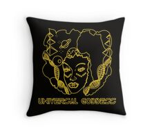 Universal Goddess  Throw Pillow