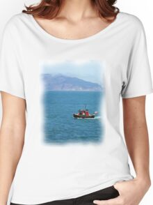 Tugboat in San Francisco Bay Women's Relaxed Fit T-Shirt