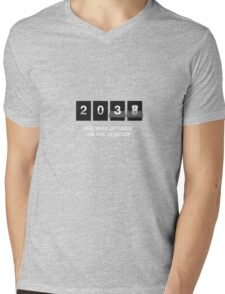 The year of linux on the desktop Mens V-Neck T-Shirt