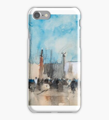 Hercules Brabazon Brabazon  The Piazzetta, Venice; North African market scene iPhone Case/Skin