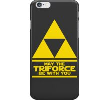 May the Triforce be with you - Link iPhone Case/Skin