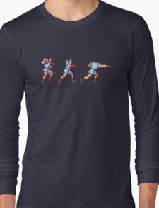 Balrog Punching Long Sleeve T-Shirt