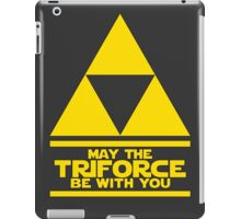 May the Triforce be with you - Link iPad Case/Skin