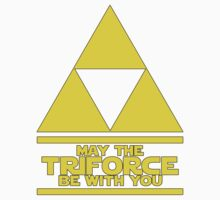 May the Triforce be with you - Link Kids Clothes