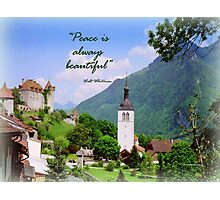 Swiss Valley Photographic Print
